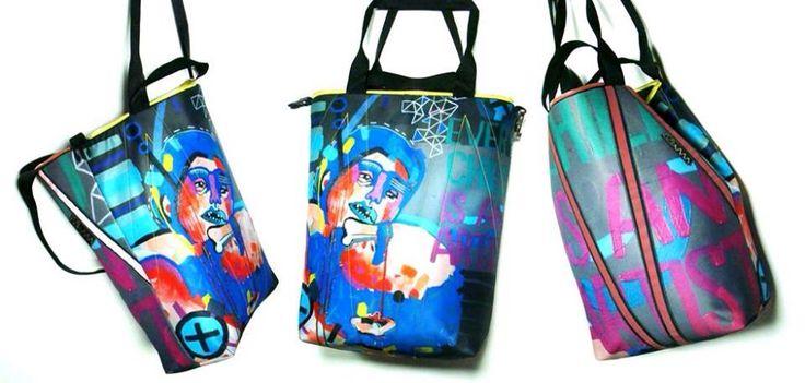 art MIMA bag MIMAbags Maciej Muszynski print painting Marcin Painta made in Poland