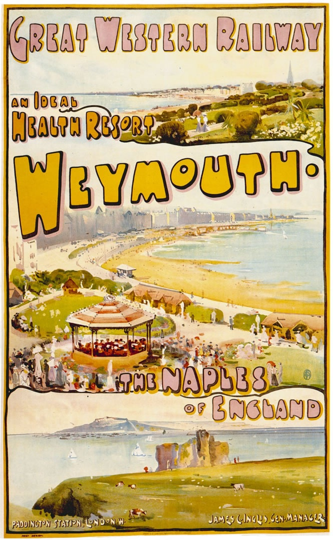 Weymouth, the Naples of the south coast!