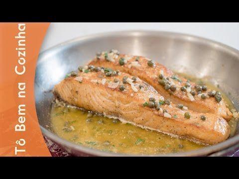 Receita de salmão no forno - YouTube