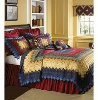 donna sharp quilts | ... Around the World Signature Quilt Bedding Collection by Donna Sharp