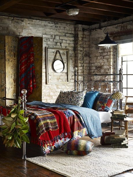 BHS Autumn 2014 [3] Walls and soft furnishings with colour