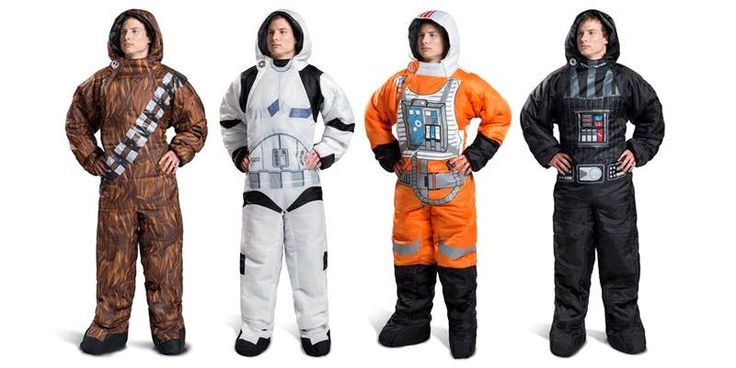Available for kids (sizes: M-L) and for adults (sizes S to XL) these Star Wars sleeping bags from Selk'bag are just the thing you need if you want to wear the exact same thing for the rest of your life. For those interested, Amazon has them all in stock right here: Selk'bag Adult Star Wars …