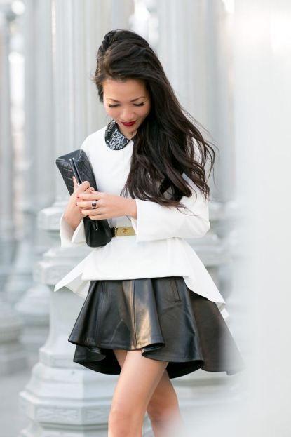 Peplum Shirt + Skirt