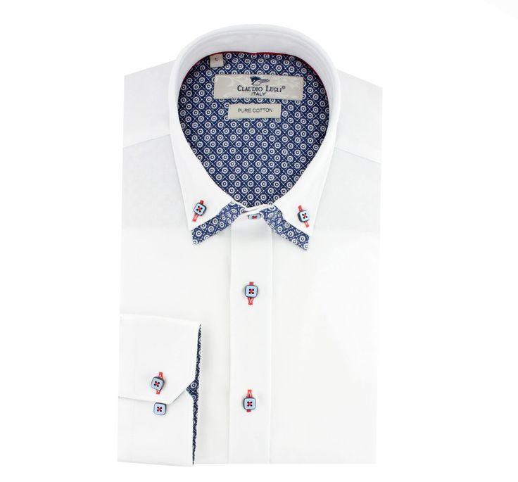 Claudio Lugli CL32 White Shirt