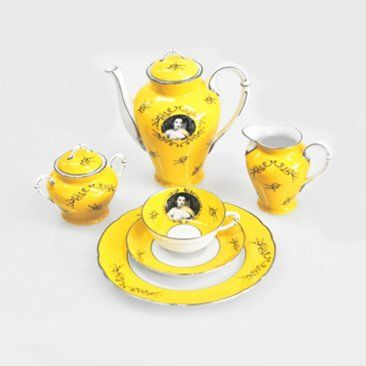 Check out this item at One Kings Lane! Cindy Sherman, Madame Pompadour Tea Set
