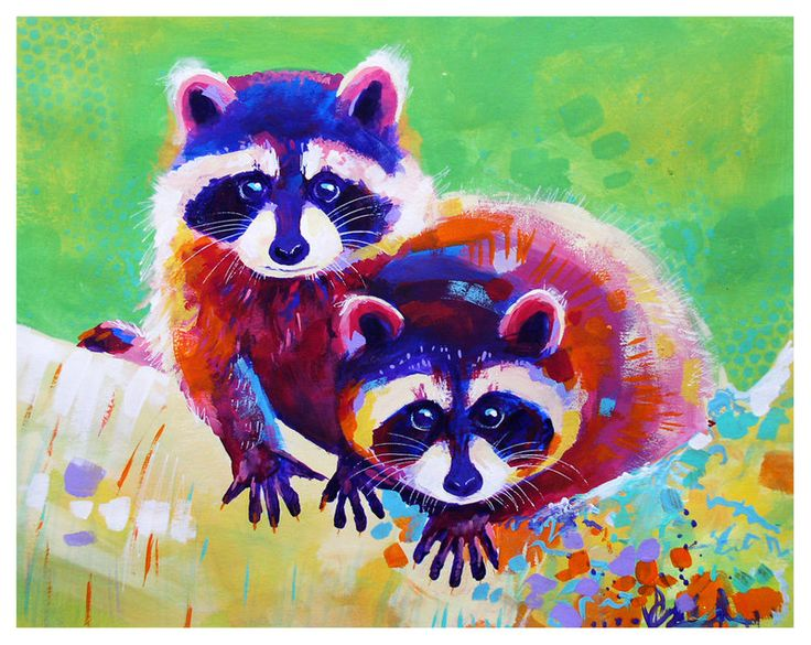 "The 23rd piece of ""28 February days of color"" challenge. Mean little fluffies =] I will be painting and uploading something every single day this month, and I would love if you all take part in it ..."