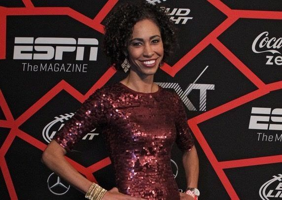 """ESPN replaces Sage Steele with Michelle Beadle over controversial comments = According to an official statement released by ESPN on Tuesday, Michelle Beadle will be taking over for Sage Steele as the full-time host of NBA Countdown. However, while Beadle is surely excited to advance her media career even further, it appears that her counterpart in Steele was removed from her now previous role due to a string of controversial comments. """"[Steele] also blasted NFL players who….."""