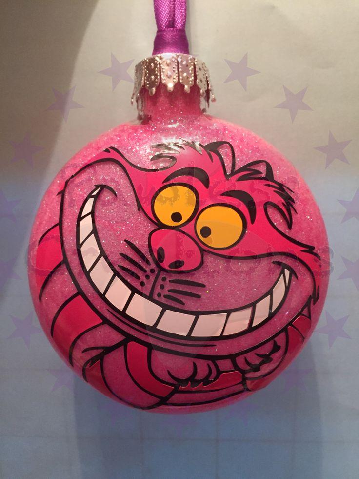 "Cheshire Cat 3"" disc ornament $10.00"