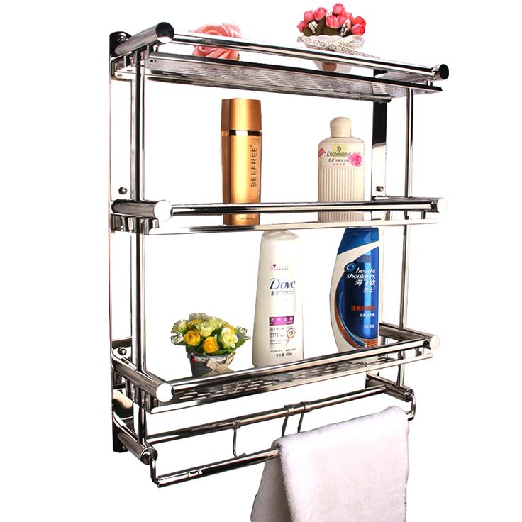 3 Tier Stainless Steel Kitchen Shelf with Hooks | Lazada Malaysia