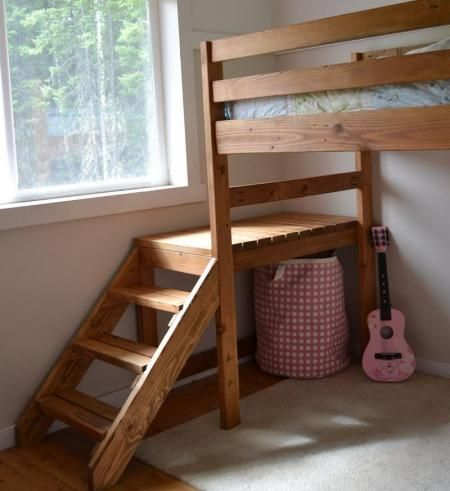 Loft Bed For Mat Over The Crib So They Can Share His