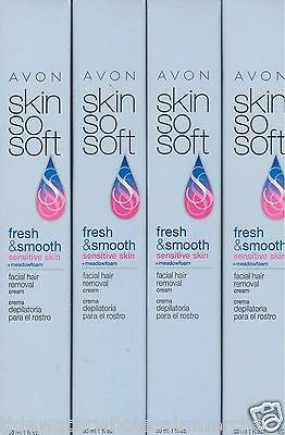 Hair Removal Creams and Sprays: Avon Sss Freshandsmooth Facial Hair Removal Cream{Lot 50 Tubes}Sensitive Skin -> BUY IT NOW ONLY: $139.6 on eBay!