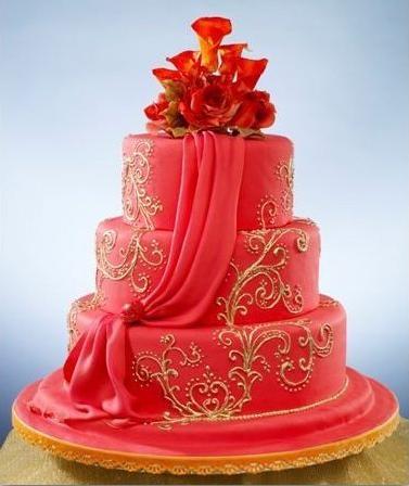 elegant cake, Bohemian elegance