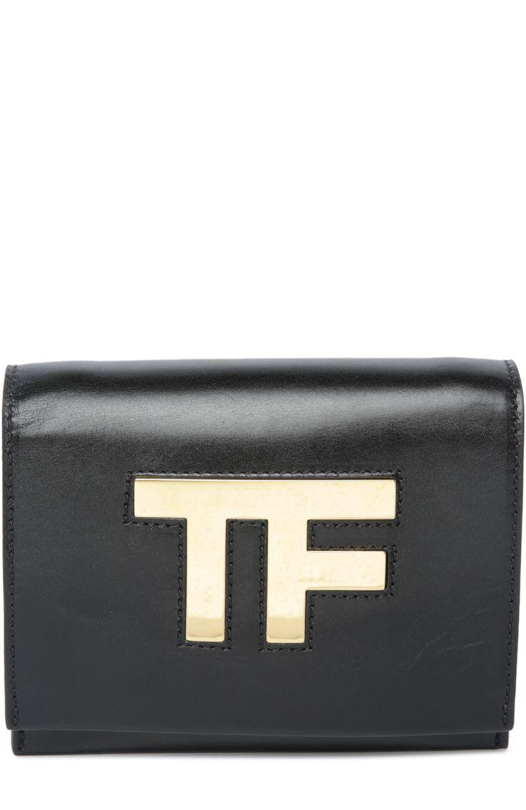 Сумка Icon Tom Ford, черного цвета, арт. L0767T/BRG в ЦУМ   Фото №1
