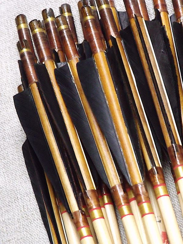 Handmade traditional wooden arrows 45#