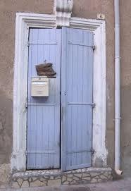 duck egg blue doors
