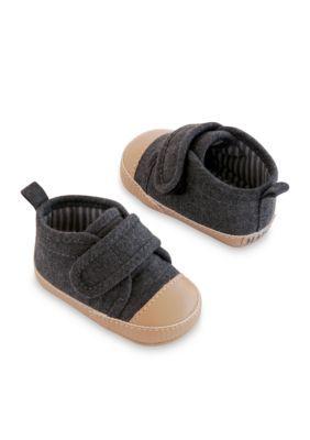 Carter's  Happy Camper Sneakers - Gray - Newborn