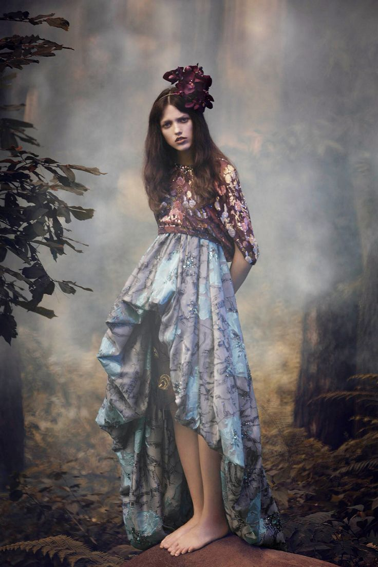 Day Dreamer for Amica magazine Stylist: Gusti Aditya Makeup: Elly R Model: Dasha