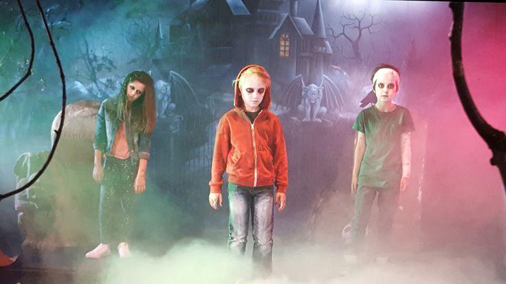 Thriller@Greenroomfilms TV shoot Zombies