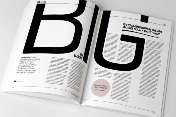 Artworks Journal - Editorial Design and Art Direction by The Design Surgery , via Behance