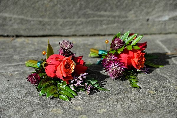 Real Wedding Berwick Lodge // Autumn Fall Colours // Bristol Florist // Emerald & Jade Flowers // Interlace Photography