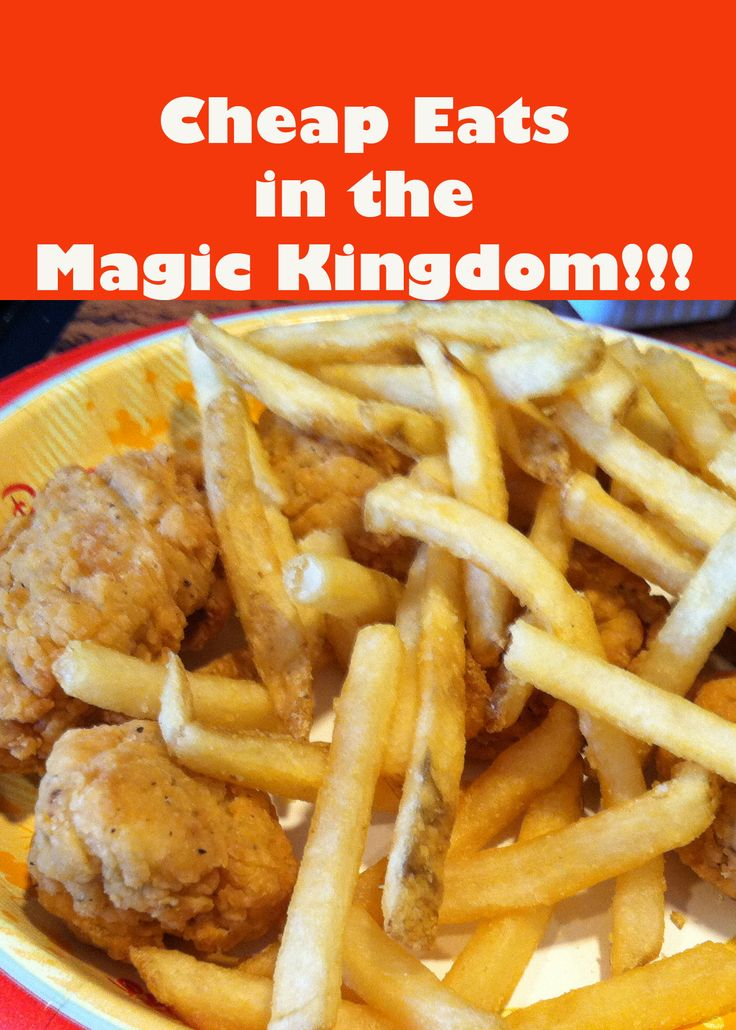 Budget Friendly Foods (CHEAP) in Disney's Magic Kingdom