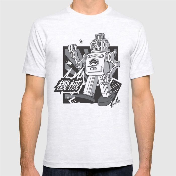 Vintage Robot T-shirt