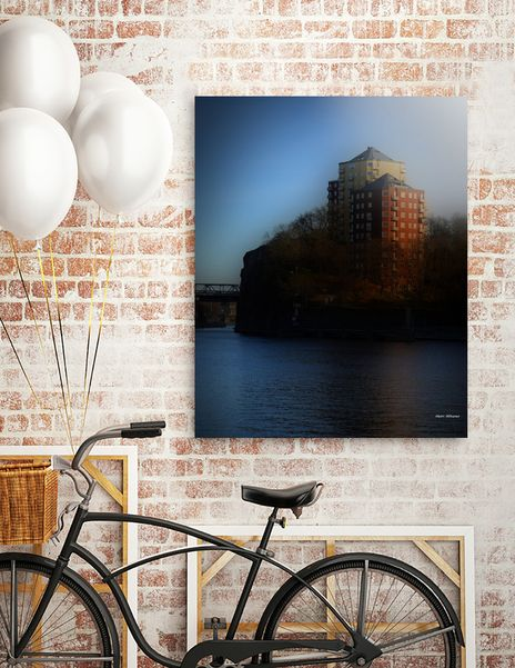 Discover «Henriksdal Stockholm 3», Exclusive Edition Aluminum Print by Henri Hiltunen - From $75 - Curioos
