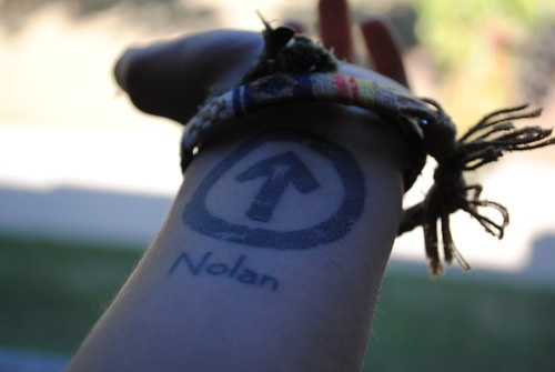 above the influence tattoo