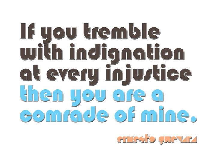 Social Justice Quote by the great Ernesto Che Guevara   Activism ...
