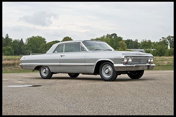Chevrolet Impala Factory Race Car One Of About