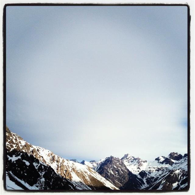 Montañas.