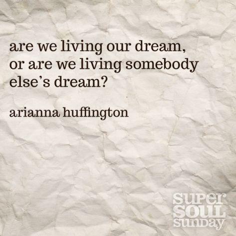 Arianna Huffington Quote on Goals