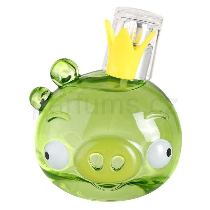 EP Line Angry Birds Green, toaletní voda pro děti 50 ml   parfums.cz