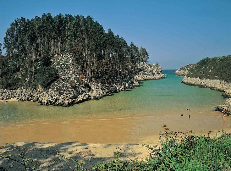 Playa de Guadamía | Portal oficial de turismo del Ayuntamiento de Llanes (Asturias, España)