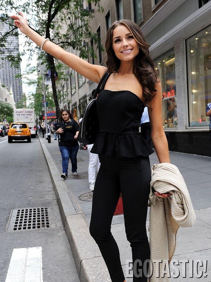 Olivia Culpo...Miss USA wins Miss Universe 2012 - Long Hair | Makeup | Hair…