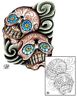78 best sugar skull images on pinterest sugar skull sugar skull face and sugar skulls. Black Bedroom Furniture Sets. Home Design Ideas