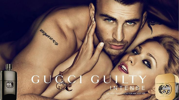 Chris Evans For Gucci Evan Rachel Wood and Chris Evans make a devastating pair in the Gucci Guilty campaign,