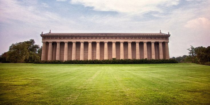 "Head to The Parthenon at Centennial Park where you'll find a full scale replica of the Greek Parthenon. There you'll learn why Nashville was called the ""Athens of the South"" before it was known as Music City. #Nashville #MusicCity #MusicCityFirstTimer"