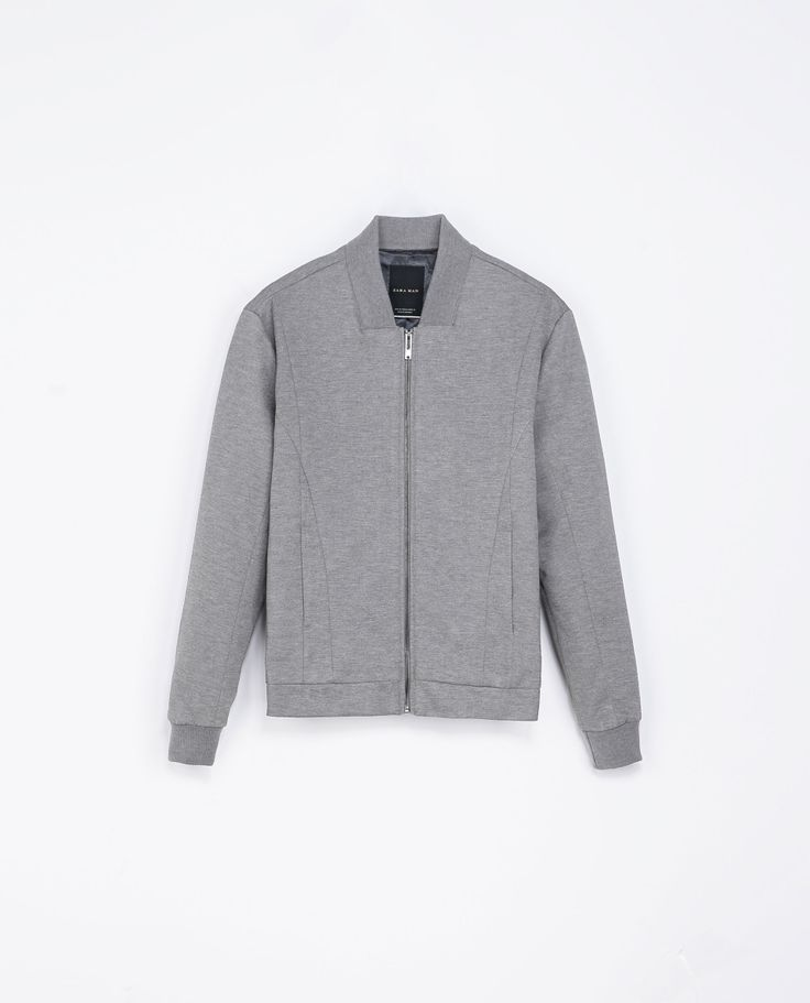 Zara CLASSIC JACKET  Ref. 1792/301  79.90 CAD Grey marl               OUTER SHELL  73% POLYESTER, 24% VISCOSE, 3% ELASTANE  LINING  100% POLYESTER