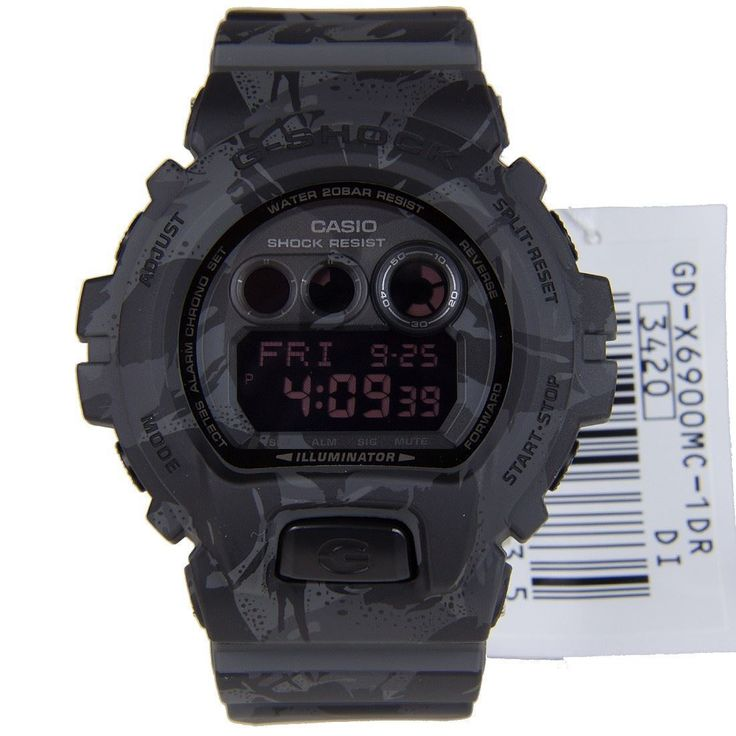 Chronograph-Divers.com - CASIO Shock Resist Watch GD-X6900MC-1, $132.00 (http://www.chronograph-divers.com/casio-shock-resist-watch-gd-x6900mc-1/)