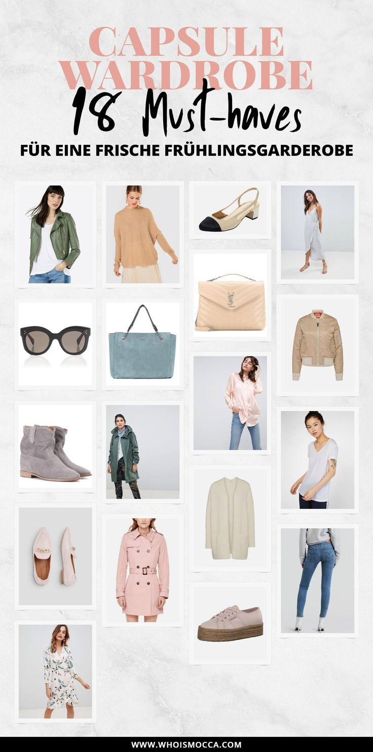 Werbung, Capsule Wardrobe Essentials für den Frühling, Basics für den Kleiderschrank, Frühlingsgarderobe mit Wardrobe Essentials aufstocken, Outfit Basics online kaufen, Modeblogger, Mode Tipps, www.whoismocca.com