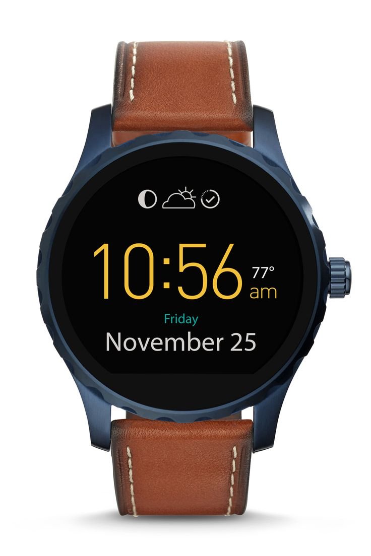 Our favorite gift for him this season: the Q Marshal display smartwatch.