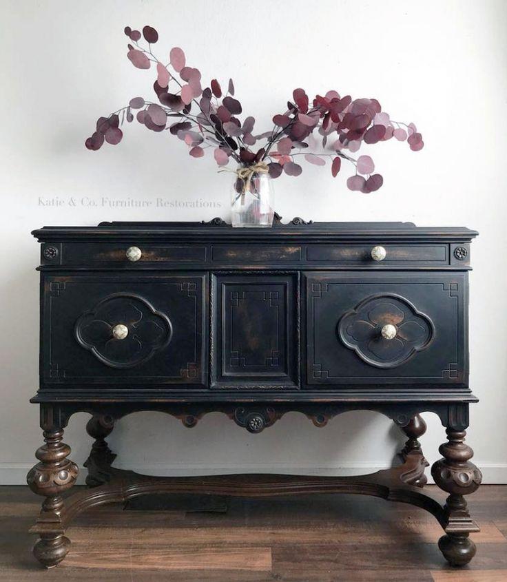 Lamp Black Mini Buffet - 1544 Best Black Painted Furniture Images On Pinterest Wood