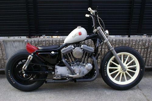 Harley Sportster bobber - very cool