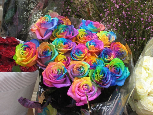 158 best hippie flowers images on pinterest hippie for How to make tie dye roses