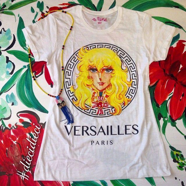 Bazaretto for Tee Trend #diecidieci #tshirt #teetrend #versace #lady #ladyoscar #oscar #versailles #paris #bazaretto