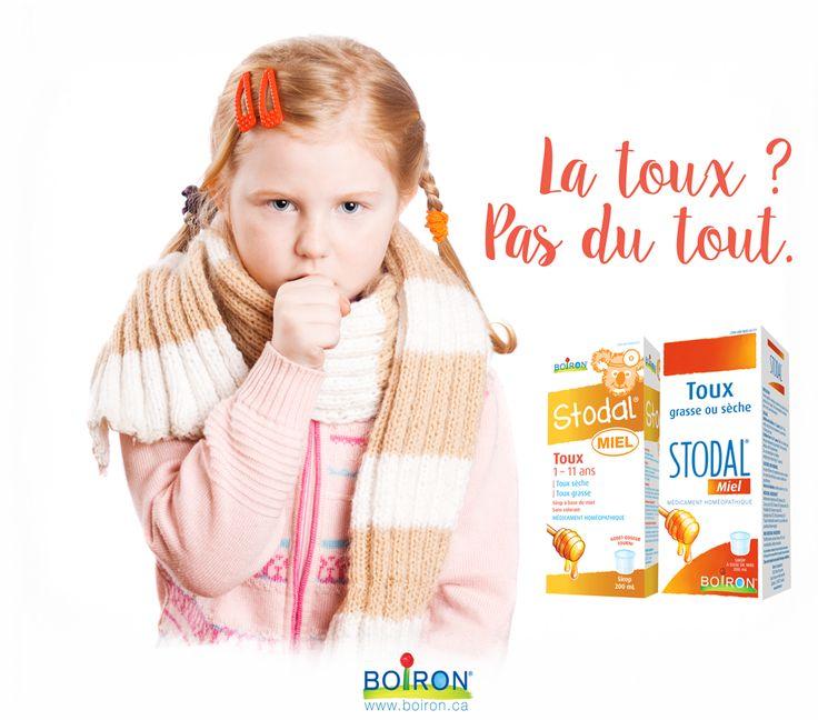 Stodal Miel pour la toux sèche ou grasse.