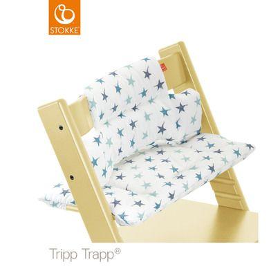 Coussin de chaise Tripp Trapp® Etoiles bleues de Stokke®