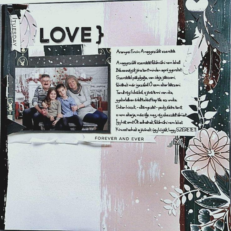 Love scrapbook page   ScrapBolt.hu Blog