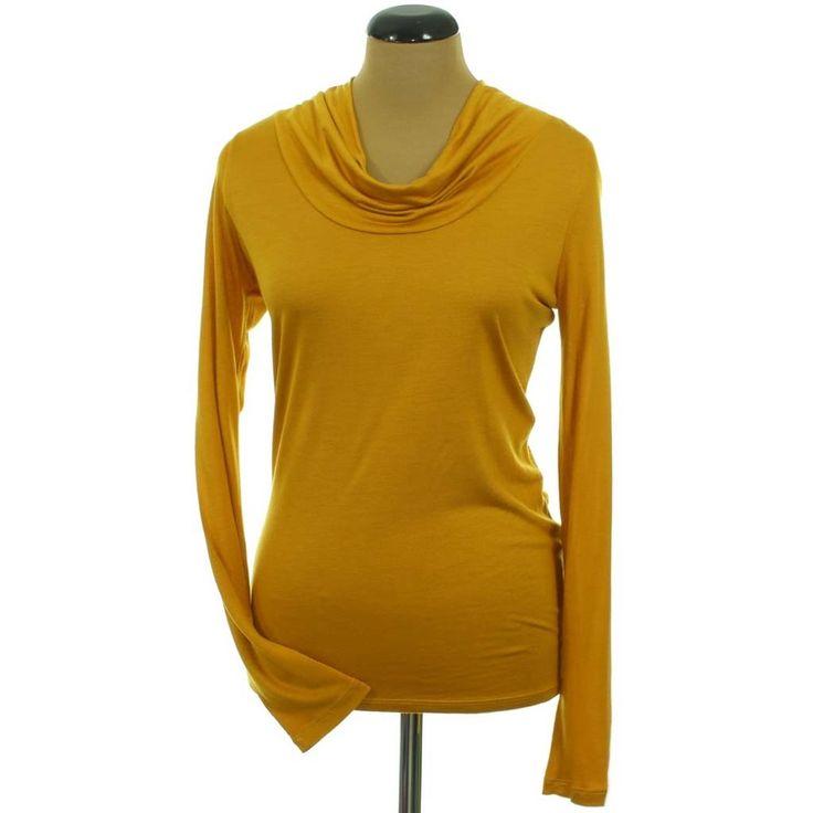 Mexx mustársárga felső | Felső, pulóver, ing - Női ruha